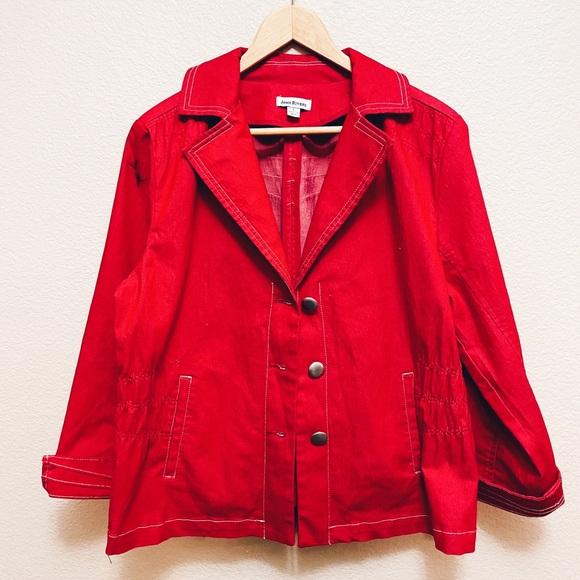 Joan Rivers Red Jacket
